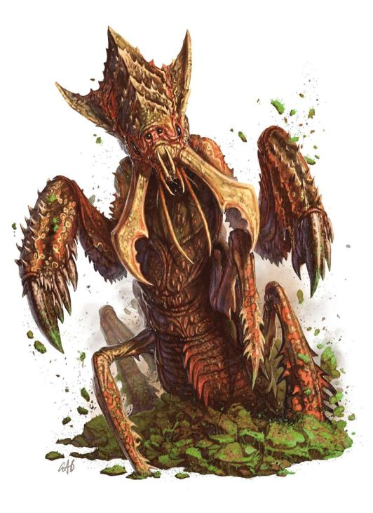 Monster_Manual_5e_-_Ankheg_-_Devon_Cady-Lee_-_p21